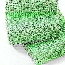 Galantéria - Kamienková stuha jablčkovo zelená - cena za 10 cm - 5396435_