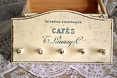 Dekorácie - Vešiak Cafe - 5396318_