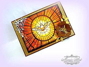Papiernictvo - Duchu svätý, príď a obnov tvárnosť zeme... - 5397071_