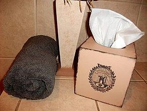 Krabičky - zásobník na papierové vreckovky  - 5395621_