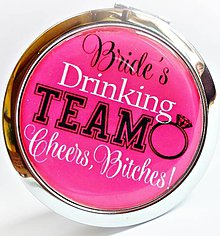 Zrkadielka - bride´s drinking team - 5397223_