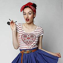 Tričká - Dámske tričko Májofka - 5394637_