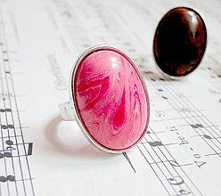 Prstene - Argentina Rhodochrosite in Silver - 5399638_