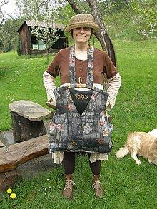 Veľké tašky - taška z vešiakovej skrine - 5400707_