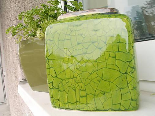 Váza zelená jarná II