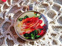 Sady šperkov - Ružička za skielkom - 5400693_