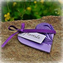 Darčeky pre svadobčanov - Darčeky pre svadobných hostí - menovky - 5398579_
