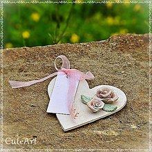 Darčeky pre svadobčanov - Darčeky pre svadobných hostí - menovky - 5398627_