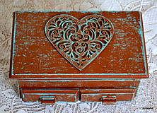 Krabičky - Čokoládové srdce - 5397913_