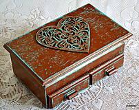 Krabičky - Čokoládové srdce - 5397914_