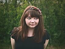 """Ozdoby do vlasov - Čelenka """"na ružiach ustlané"""" - 5400457_"""
