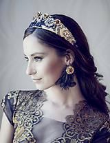 Ozdoby do vlasov - Čelenka-Korunka nr.3 - kolekcia Miss Slovensko 2015 by Hogo Fogo - 5399021_