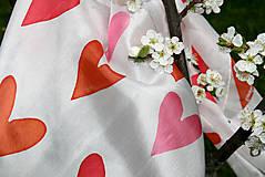 Šatky - Maľovaná hodvábna šatka Ajlavjú - 5398568_