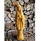 Dekorácie - Sviečka - Mária - 5401173_