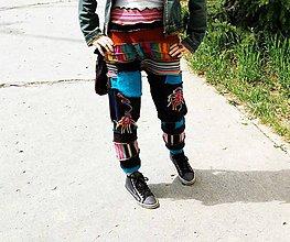 Nohavice - lelochodky farebné - 5403049_