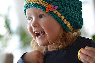 Detské čiapky - ZELENÁ - 5403793_