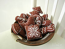 Dekorácie - Medovníčky s cukrovou polevou... - 5402767_