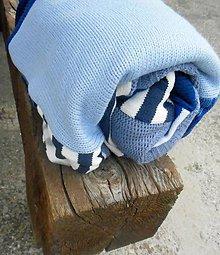 Úžitkový textil - Modrá je dobrá - 5402330_