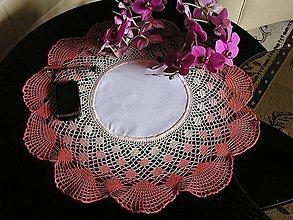 Úžitkový textil - *** v odtieňoch ružovej *** - 5405627_