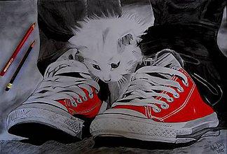 Kresby - Kresba - Priateľstvo - 5405082_