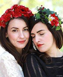 Ozdoby do vlasov - RED PARTA for Tami HERIBANOVÁ by Hogo Fogo - 5404852_