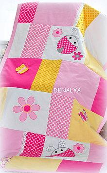 Úžitkový textil - Prehoz z kolekcie Beruška 90x200cm - 5408750_
