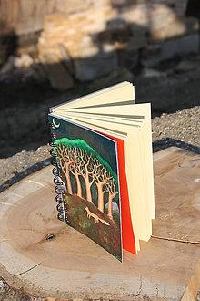 Papiernictvo - Notes větší Liška pod stromy - 5407042_