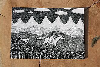 Papiernictvo - Pohlednice Kůň - 5407361_