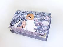 - Andělka s kočičkou - romantická peněženka  - 5409020_