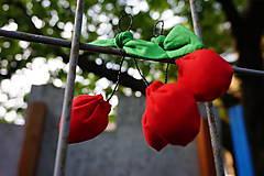Dekorácie - čerešničky,čerešničky červené 2 - 5408443_
