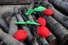 Dekorácie - čerešničky,čerešničky červené 2 - 5408458_