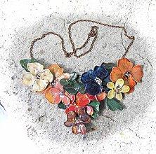 Náhrdelníky - garden flovers 8 - 5412513_