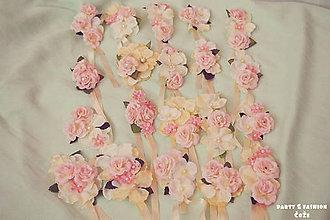 Náramky - Romantické náramky pre družičky - 5411800_