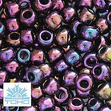 Korálky - TOHO rokajl (Round 3mm) Metallic iris purple - 5409256_