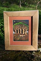 Obrazy - Obraz Liška pod stromy - 5409550_