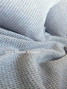 Úžitkový textil - obliečka štvorec DECOR knit B - 5411022_