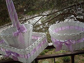Košíky - svadobný komplet.. - 5411668_