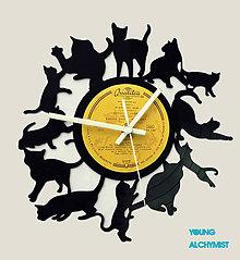 Hodiny - Cat O'clock! - 5412578_