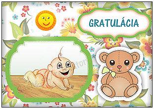 Papiernictvo - Blahoželanie k narodeniu dieťaťa - 5411916_