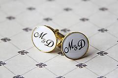 Šperky - Manžetové gombičky - 5416342_