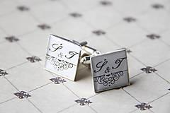 Šperky - Manžetové gombičky - 5416353_