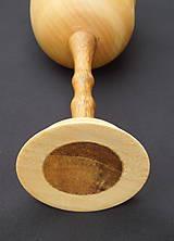 Nádoby - drevený pohár na víno k výročiu - 5416617_