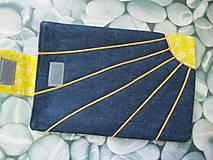 Úžitkový textil - Obal na tablet- jarné slniečko - 5415917_