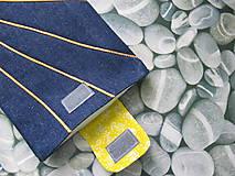 Úžitkový textil - Obal na tablet- jarné slniečko - 5415919_
