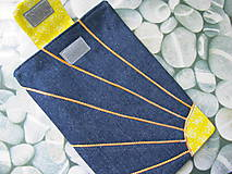 Úžitkový textil - Obal na tablet- jarné slniečko - 5415921_