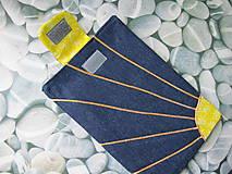 Úžitkový textil - Obal na tablet- jarné slniečko - 5415922_