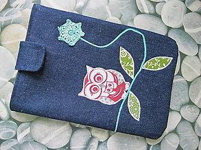 Úžitkový textil - Obal na tablet- múdra sovička - 5415833_