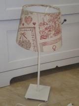 Úžitkový textil - Lampy na objednávku pre Martinu - 5413470_