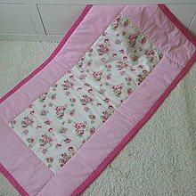 Textil - Prehoz do postielky/ Vintage - 5418729_