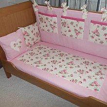 Textil - Vintage postieľka - 5418739_